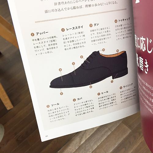 靴のイラストが掲載されてい本の写真