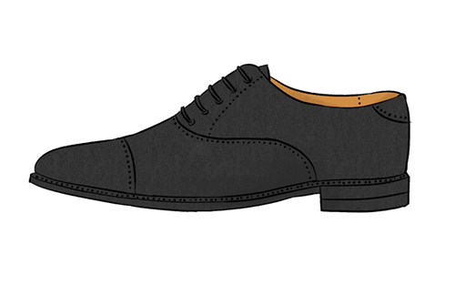 革靴のイラスト
