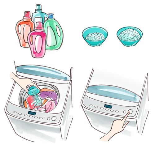 洗濯剤イラスト