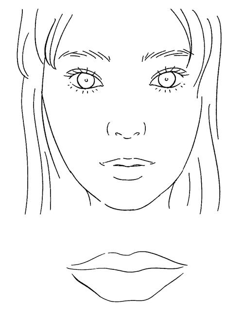 顔イラスト