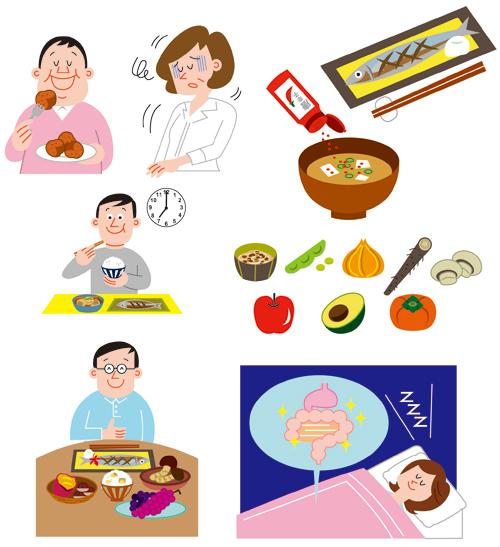 胃腸のイラスト