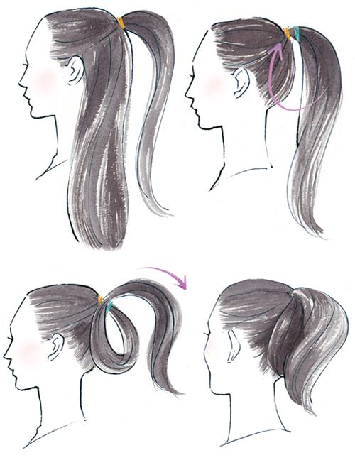 髪型イラスト