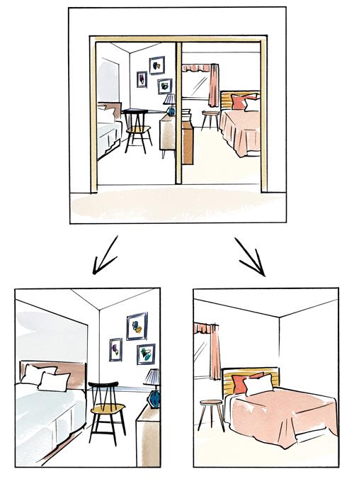 部屋イラスト