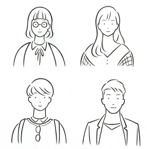 中谷聖子のイラスト