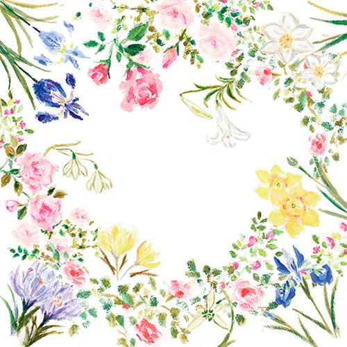 織田美涼が描いたお花のイラスト