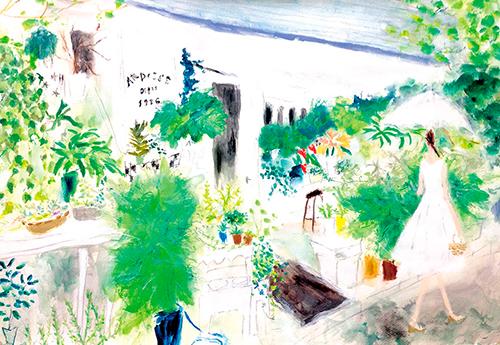 織田美涼が描いた風景イラスト