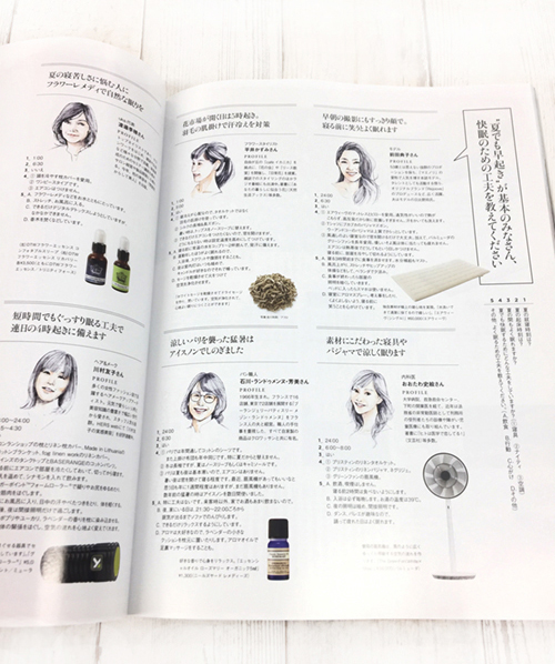 吉岡香織が描いた似顔絵イラスト