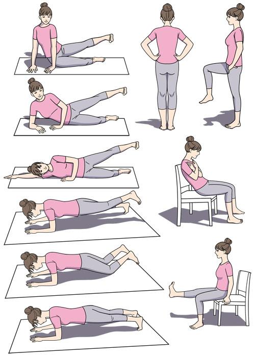 体操のイラスト