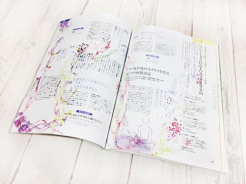 タムラカヨのイラストを掲載した雑誌ヨギーニ