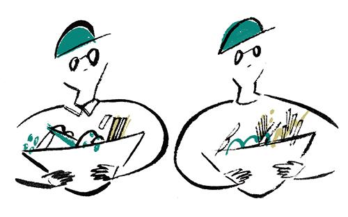 サトウアサミが描いたサブスクリプションのイラスト