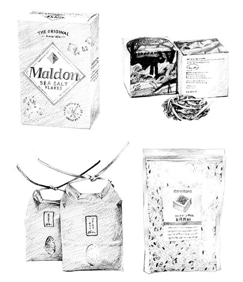 商品パッケージのイラスト