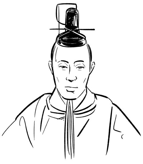 徳川慶喜の似顔絵イラスト