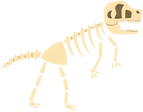 化石のイラスト