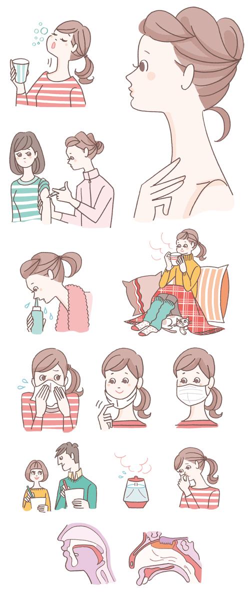 女性イラスト