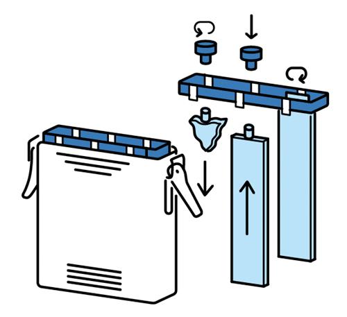 水発電機の構造イラスト