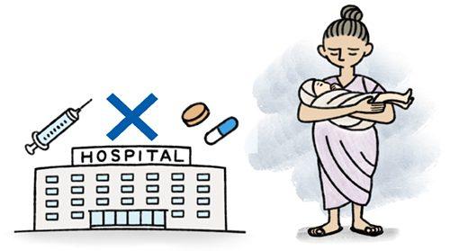 病院と途上国の人々