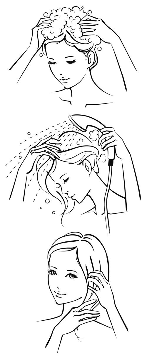 女性 シャンプー