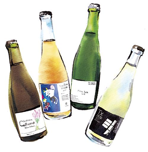 発砲系のワインボトル