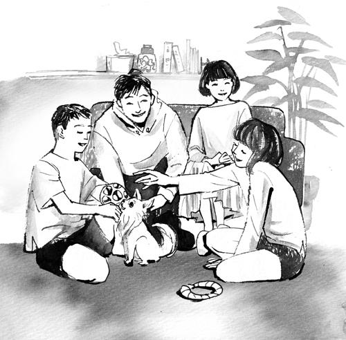 家族イラスト